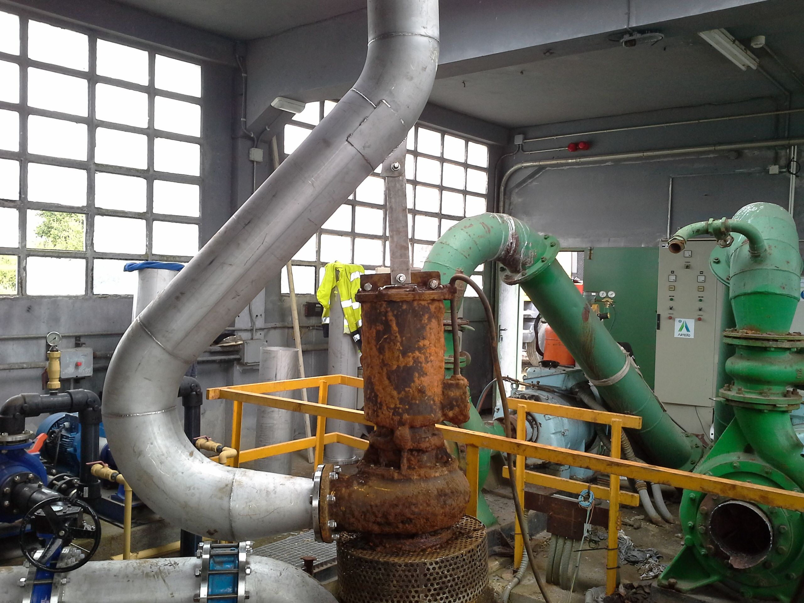 """Se inician los trabajos de la obra: """"Mejora de la Captación  de Agua en el embalse de Rosadoiro y ETAP DE SABÓN. Ayuntamiento de Arteixo."""